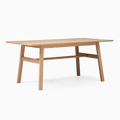Jodie Rectangle Dining Table, Oak - West Elm