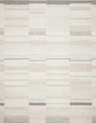 "Loloi Evelina EVE-03 Ivory / Beige 3'-6"" x 5'-6"" - Loma Threads"