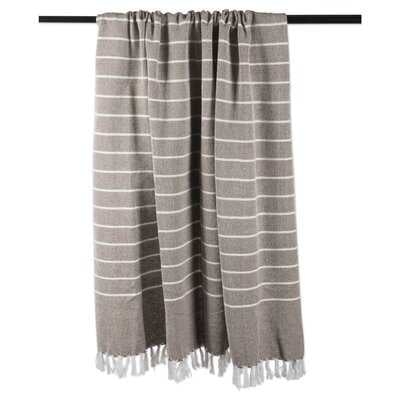 Hawley Thin Cotton Throw - Birch Lane