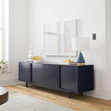 "Hollis Media Console, Admiral, 78"" - West Elm"