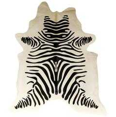 Zebra Cowhide - High Fashion Home