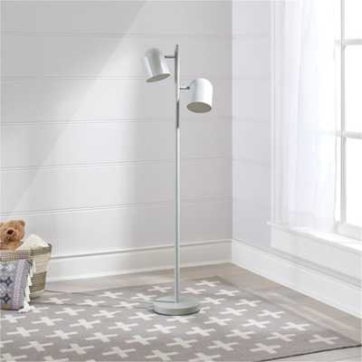Gray Touch Floor Lamp - Crate and Barrel
