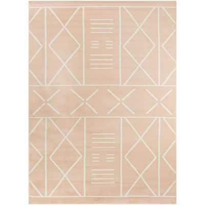 BALTA Rosanna Tribal Geometric Pink 8 ft. x 10 ft. Area Rug - Home Depot