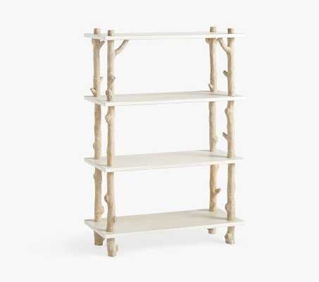 Birch Bookcase, Birch/Simply White, In-Home Delivery & Assembly - Pottery Barn Kids