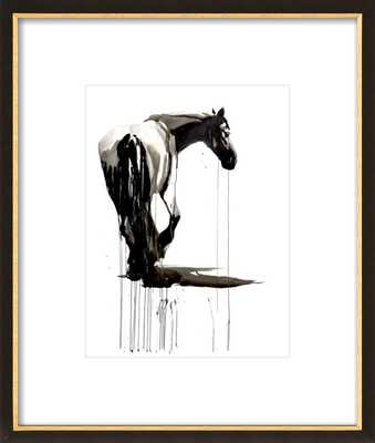 Horse study by Philine van der Vegte for Artfully Walls - Artfully Walls