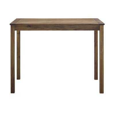 Makayla Wooden Bar Table - Wayfair