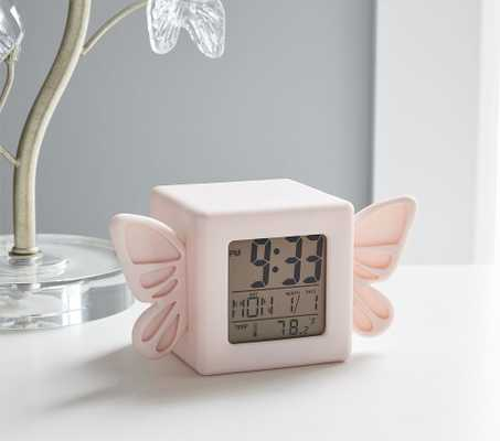 Light Up Butterfly Digital Clock - Pottery Barn Kids