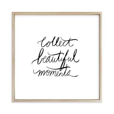 Collect Beautiful Moments Children's Art Print - Minted