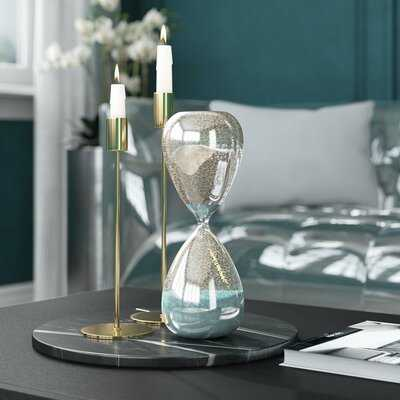Leonora Sand Mercury Hourglass - Wayfair