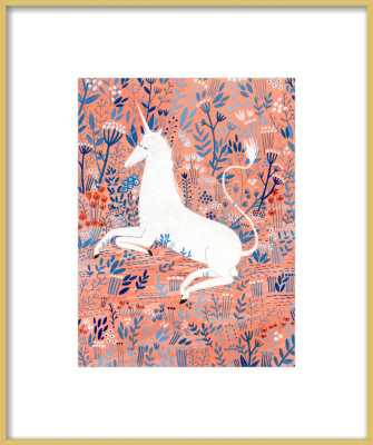 Unicorn by Yelena Bryksenkova for Artfully Walls - Artfully Walls