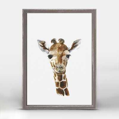 Brookwood Baby Giraffe Portrait - Wayfair