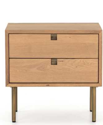 Karma Nightstand, Oak - Lulu and Georgia
