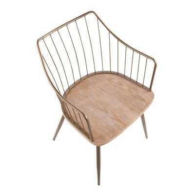 Lipman Windsor Back Arm Chair - Wayfair