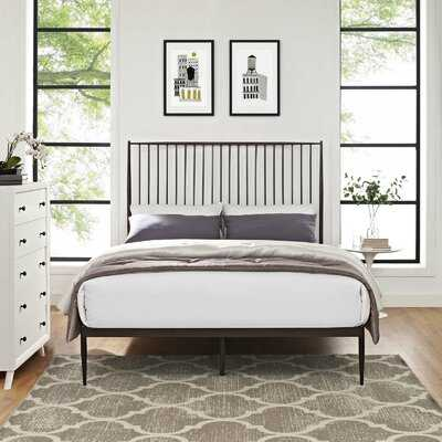 Aviles Queen Platform Bed - Wayfair