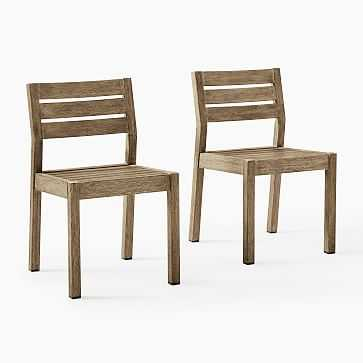 Portside Outdoor Dining Chair, Set of 2 - West Elm