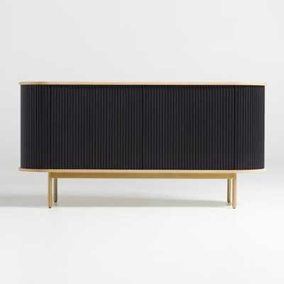 Walton Ribbed Sideboard - Crate and Barrel