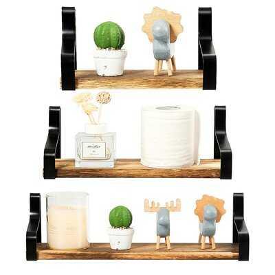Padiham 3 Piece Floating Shelf - Wayfair