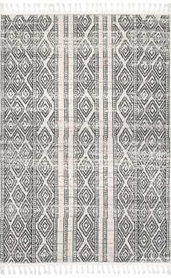 Chenoa Striped Tribal Tassel Area Rug - Loom 23