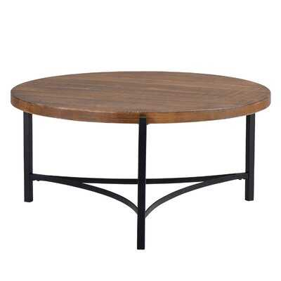 Struthers Solid Wood 3 Legs Coffee Table - Wayfair