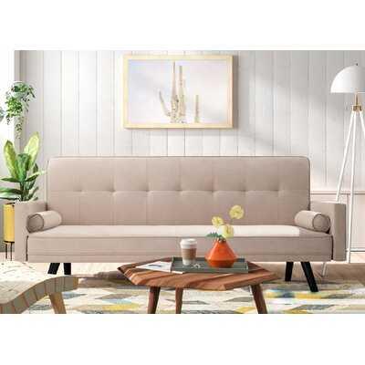 "Ston Easton 80"" Wide Square Arm Convertible Sofa - Wayfair"