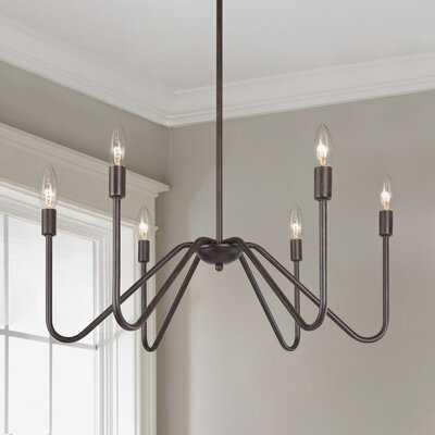 Annafran 6 - Light Candle Style Classic Chandelier - Wayfair