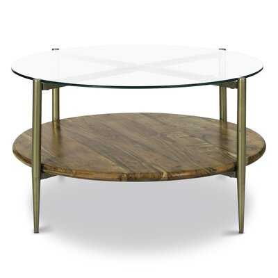 Miesner Coffee Table with Storage - Wayfair