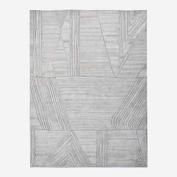 Wadi Rug, 8'x10', Frost Gray - West Elm