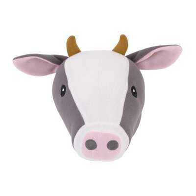 Plush Fleece Cow Head Faux Taxidermy - Wayfair