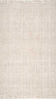 "Krew Rug, 9'6"" x 12'6"", Off-white - Roam Common"