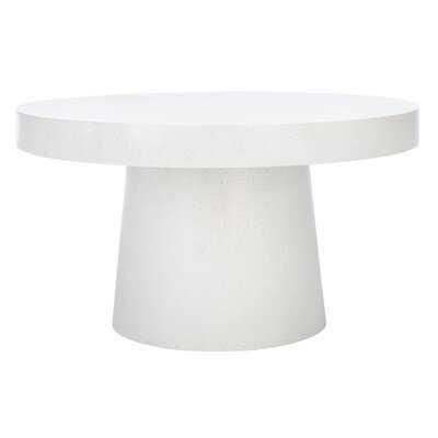 Chumley Pedestal Coffee Table - Wayfair