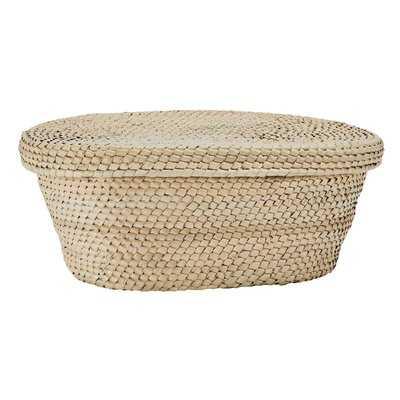 Hirst Hand Crochet Palm Wicker Basket - Wayfair