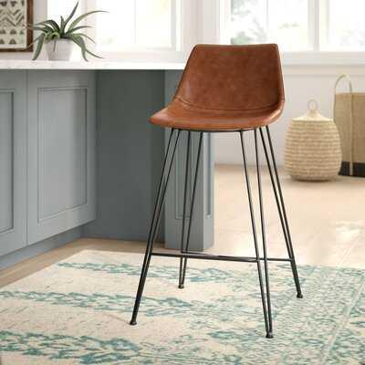 Adrianne Upholstered Bar & Counter Stool - Wayfair
