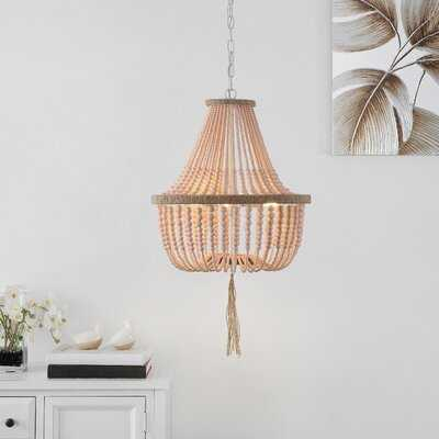 Lyon 3 - Light Unique Empire Chandelier - Wayfair