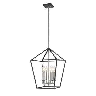 Siniard 6 - Light Lantern Square Chandelier - Wayfair