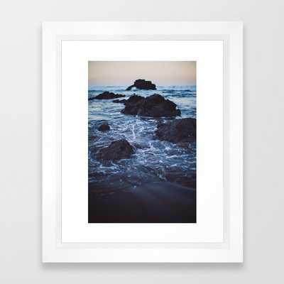 Arcadia Framed Art Print by Leah Flores - Vector White - X-Small-10x12 - Society6