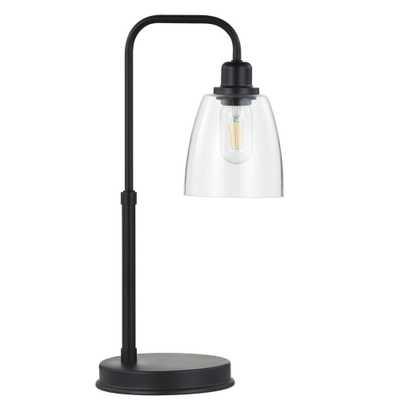 Safavieh Kashton 20 in. Black Table Lamp - Home Depot