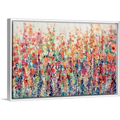 'Flourish of Spring' - Painting on Canvas - Wayfair