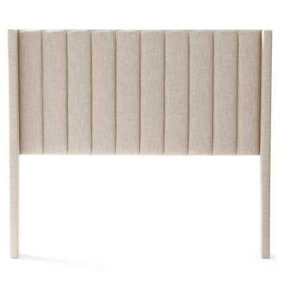 Buron Upholstered Wingback Headboard - Wayfair