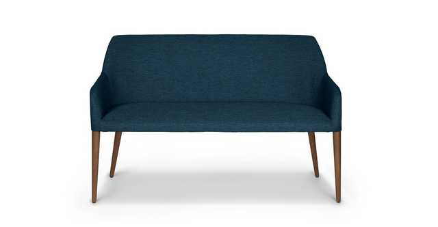 Feast Twilight Blue Dining Bench - Article
