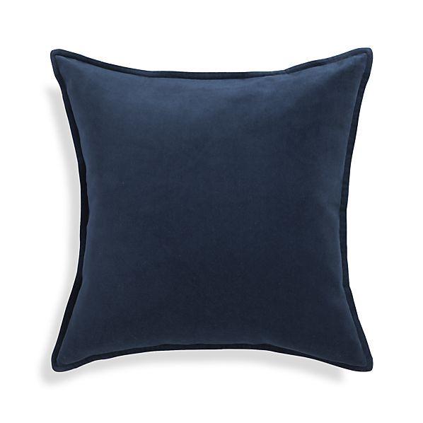 Brenner Blue Pillow