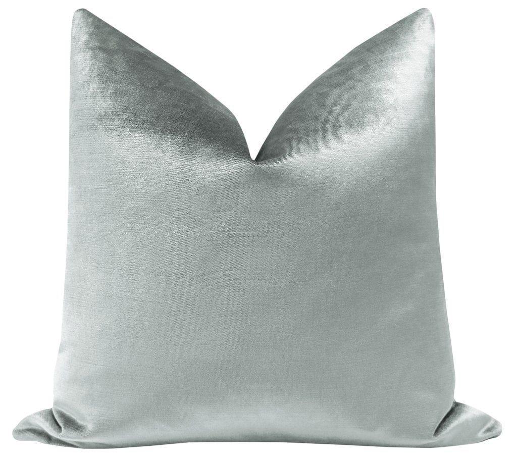 Faux Silk Velvet // French Grey
