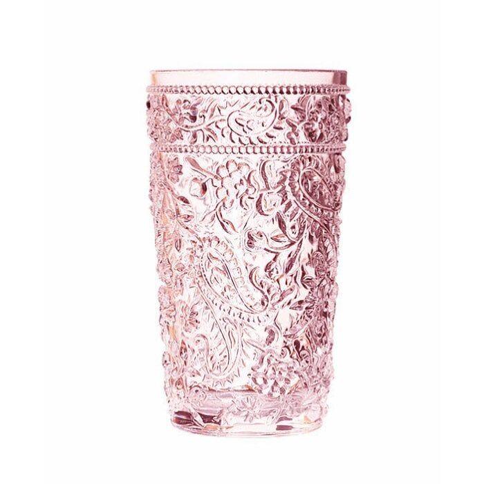 Calder Paisley 17 oz. Acrylic Drinking Glass- set of 4