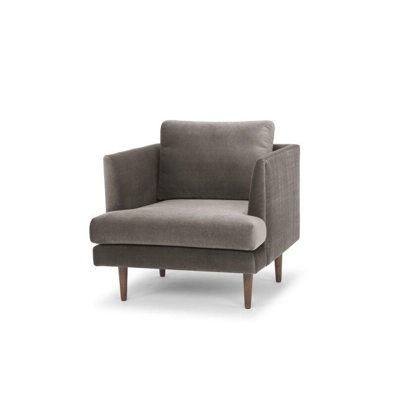 Jase 32'' Wide Velvet Armchair