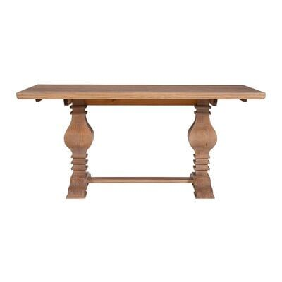Darrah Pine Solid Wood Dining Table