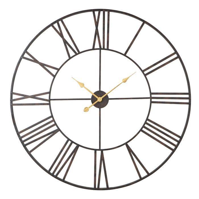 """Oversized Eisenhauer 36"""" Wall Clock"""