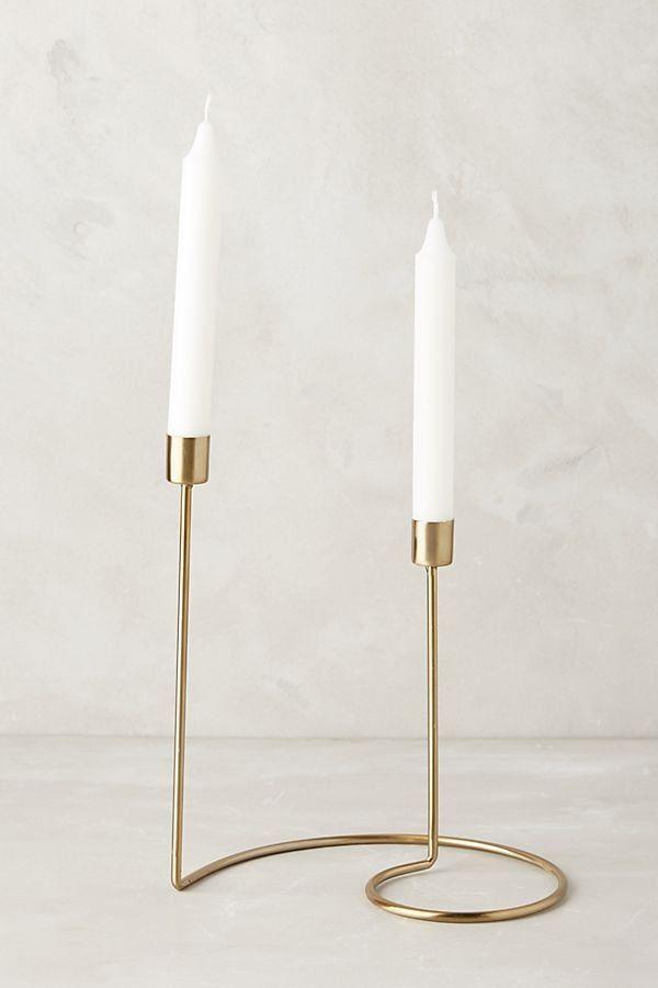 Cursive Candlestick - Small