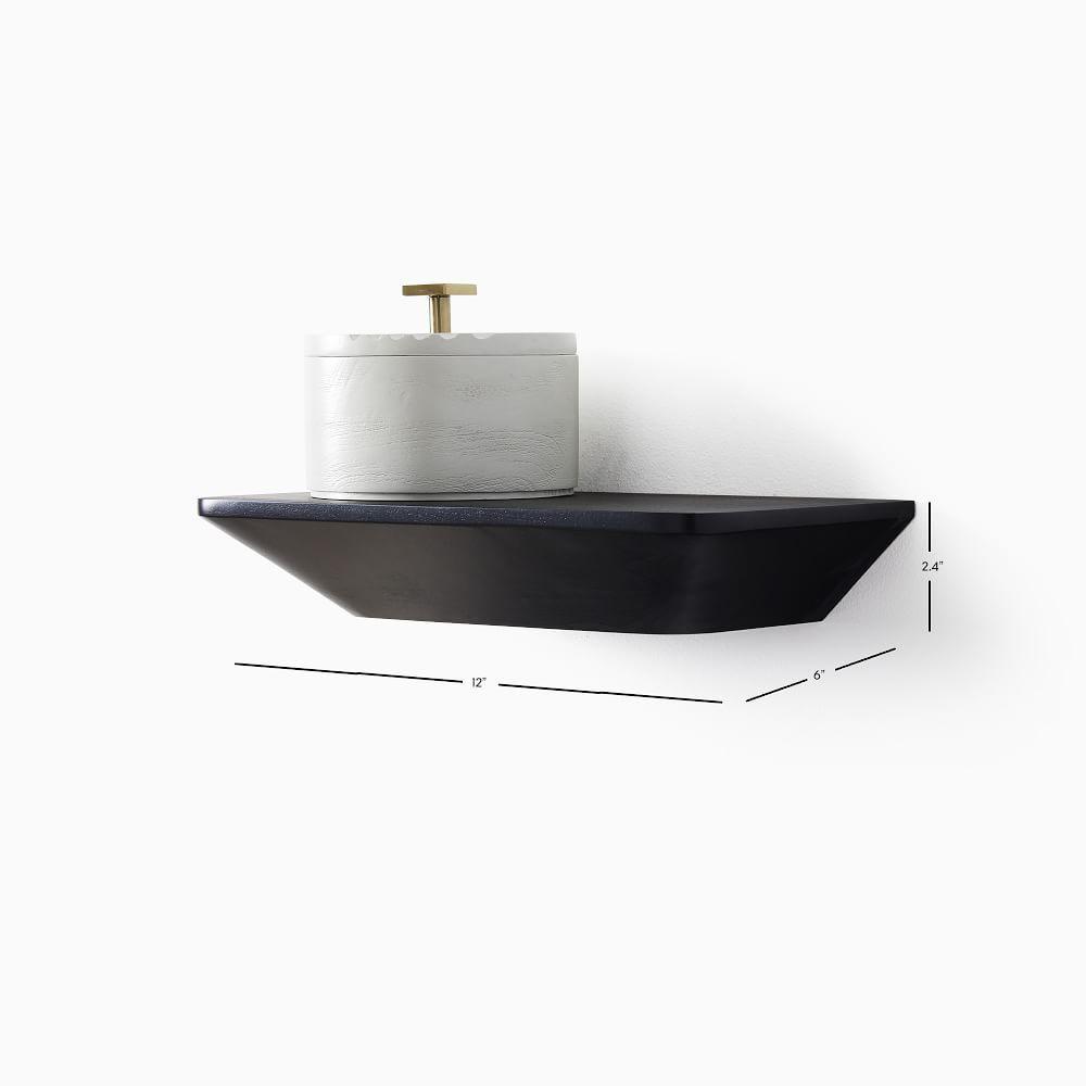 Slim Floating Collection Acorn 1' Shelf