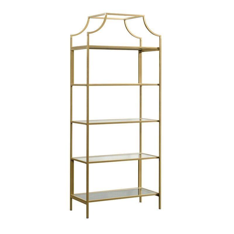 Rapp 70.88'' H x 30'' W Metal Etagere Bookcase
