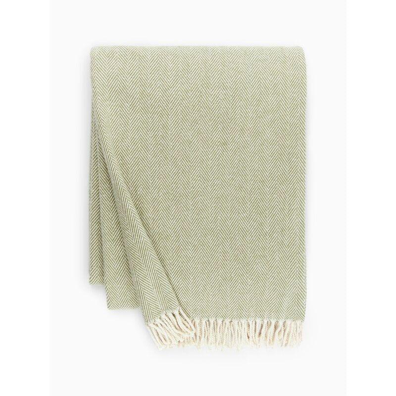 Celine Cotton Throw - Moss
