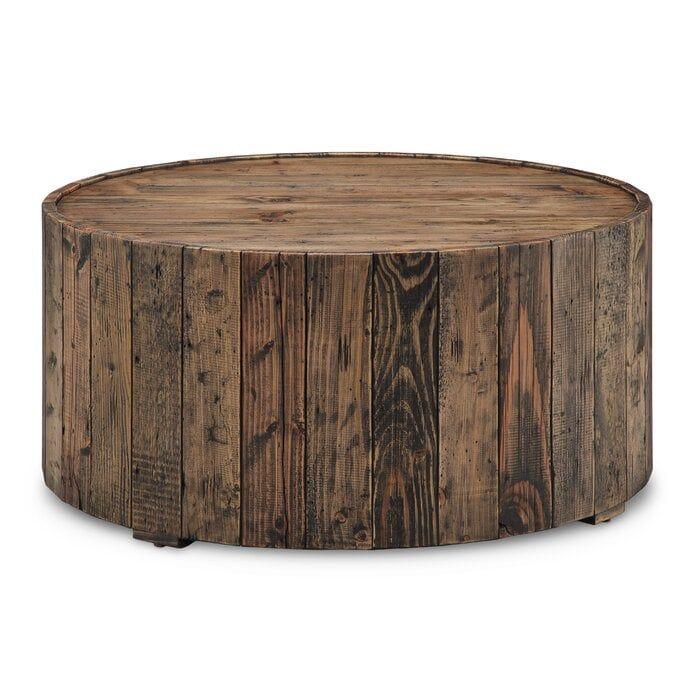 Shellman Drum Coffee Table